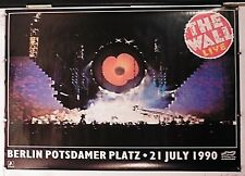 "PINK FLOYD The Wall Live In Berlin 1990 Concert Poster 24.50"" X 34.50"" NOS(b314)"