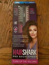 JML Hair Shark Pro Backcomber Volumising + Smooth Style Brush Genuine BNIB.