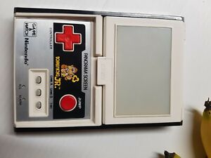 DONKEY KONG JR. PANORAMA SCREEN RARE NINTENDO GAME AND WATCH  NICE CONDITION