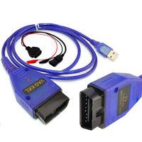 FIAT USB 3-Pin OBD2 II KKL 409.1 Diagnostic lead Works With MultiEcuScan V4.6 R1