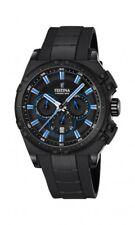 Festina Herrenuhr Uhr Bike Chrono 2016 Chronograph Schwarz Blau F16971/2