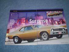 "1970 Chevy Nova Small-Tire Drag Car Article ""PSCA Surprise"""