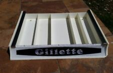 Vintage Gillette Commercial Store Razor Blade Display Tray