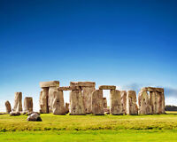 England Historic Monument STONEHENGE Glossy 8x10 Photo Print Wall Art Poster