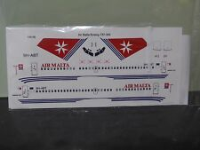 Air Malta Boeing 737-300 Old livery two six decals-9H-ABT+Bonus AirMalta pen