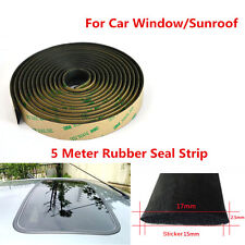 5m Car Window Seal Strip Skylight Weatherstrip For Auto Front Rear Windshield