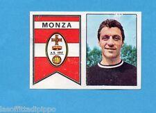 PANINI CALCIATORI 1965/66-Figurina - SCUDETTO+CICERI - MONZA -Recuperata