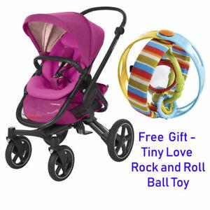Brand New Maxi Cosi Nova Pushchair Stroller Pram in Frequency Pink RRP:£499