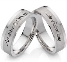 Sehr gut geschliffene Echtschmuck-Ringe aus Sterlingsilber Diamant
