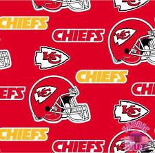 Kansas City Chiefs NFL Fleece Fabric by the Yard 6274 D