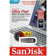 Sandisk Ultra Flair USB 3.0 128GB 150MB/s Fast Flash Pen Drive SDCZ73 Memory New