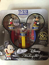 Pez Disney Mickey Mouse 80th Year Collectible Dispensers New In Package Set of 3