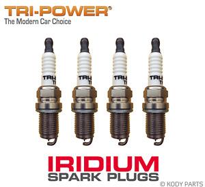 IRIDIUM SPARK PLUGS - for Daihatsu Charade G102 1.3L HC-E 1988-1993 TRI-POWER