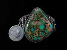 Vintage Navajo Bracelet - Coin Silver