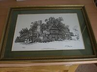 A Limited Edition Framed Print Of SELLY OAK By M.P.THOMPSON - Signed & Numbered