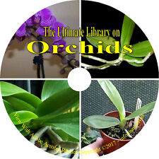 24 Books on CD, Ultimate Library on Orchids, How to Grow Flowers Greenhouse