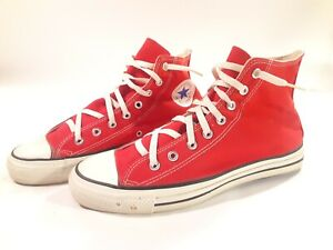 RARE VINTAGE CONVERSE ALL STAR CHUCK TAYLOR HI TOPS SIZE 11.5 MADE IN USA NICE!