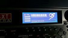 Emu ULTRA E4XT e6400 E5000 E-SYNTH E4 Platinum Custom Graphic Display !