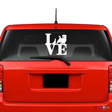 Love Norfolk Terrier Windshield Sticker Vinyl Auto Window park