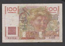 BILLET de 100 FRANCS  JEUNE PAYSAN du 6/ 11 / 1947  -E.226 -