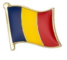 Romania Flag Pin Lapel Badge Romanian High Quality Gloss Enamel