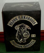 HIJOS DE LA ANARQUIA 1-7 TEMPORADAS COMPLETAS 29 DVD NUEVO PRECINTADO (SIN ABRIR