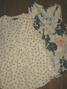 womens maternity XS lot tops blouses A Pea in the Pod sleeveless tank shirts