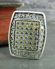 Turkey Filigree & CZ Sterling Silver Ring