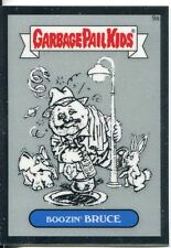 Garbage Pail Kids Chrome Series 1 Pencil Art Base Card 9a BOOZIN' BRUCE