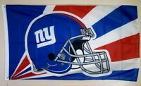 New York Giants Banner 3x5 Ft Flag Man Cave Decor Football NFL G Men Sports