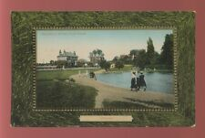 Surrey EPSOM Stamford Green and pond c1900s? PPC by Valentine