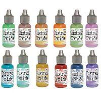 Ranger Ink Distress Oxide Reinker by Tim Holtz, 12 Unique Colors, Chose Color