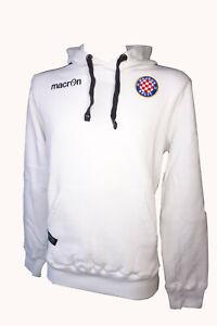 Macron Hajduk Split Hoodie mit Kapuze Cotton Sweatshirt, weiß 58085314