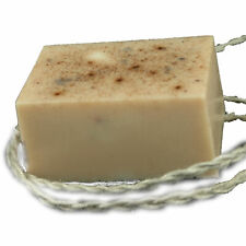 New Natural Soap On A Rope - Handmade in USA