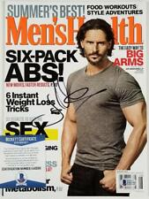 Actor JOE MANGANIELLO Signed Men's Health Magazine True Blood ~ Beckett BAS COA