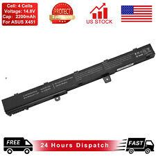 Battery for Asus X451 X551 X451C X551C X551CA-SX029H A31N1319 D550MA X45Li9C
