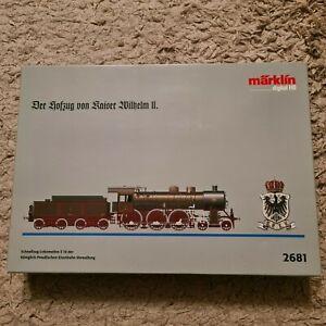 Märklin 2681 Der Hofzug von Kaiser Wilhelm II. Spur H0 OVP