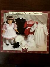AG3 The American Girls - Samantha's Pretty Clothes - Doll Dress Patterns - UNCUT