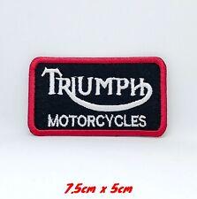 A124 Aufnäher Patch Triumph Flagge GB 8 6,5 CM