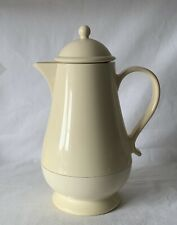 Vintage Cream Colour THERMOS Coffee Butler 1 Litre Capacity Screw Top Lid