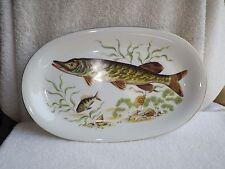 "13"" Fish Plate Platter WINTERLING Oval ~ Bavaria Western Germany"