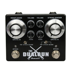 High quality Guitar Effect Pedal DemonFX The DUANGUN OVERDRIVE DISTORTION BOOST