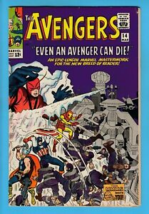 AVENGERS # 14 FN (6.0) 1st APPEARANCE of The KALLUSIANS- GLOSSY CENTS COPY- 1965