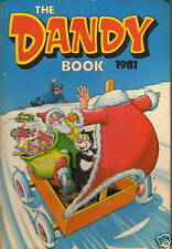Modern Age (1980-Now) Cartoon Characters Dandy Annuals