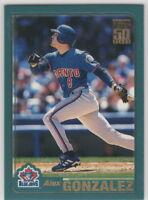 2001 Topps Baseball Toronto Blue Jays Team Set