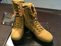 Oliver Work Boots Lace Up High Cut Boot Wheat Size 9 1/2