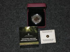2012 Canada 25-Cent Dinosaur Glow in the dark Coin - Pachyrhinosaurus Lakustai