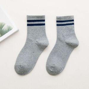 Skateborad Rainbow Socks Women Long Tube Warm Cotton Socks Casual Striped Socks