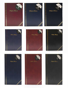 """6"""" x 4"""" Slip-in Traditional Assorted Colours Photo Albums - 3 Sizes"""