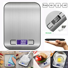 Из нержавеющей стали 5kg/1g Lcd цифровые Кухонные весы электронные еда баланс веса